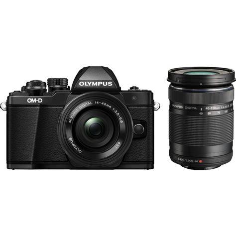 Olympus Om D E M10 Kit 14 42mm Ez 17mm F28 olympus om d e m10 ii 14 42mm 40 150mm kit black mirrorless cameras photopoint