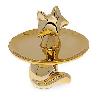 dci ceramic animal jewelry tray jewelry tray fox jewelry ceramic animals
