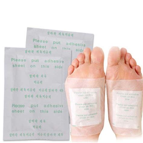 Foot Patch Detox Pantip by Detox Foot Pads Patch Detoxify Toxins Adhesive Keeping Fit