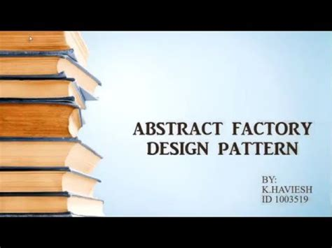 factory pattern youtube abstract factory design pattern using c youtube