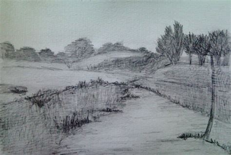 Landscape Sketch By Dania987 On Deviantart