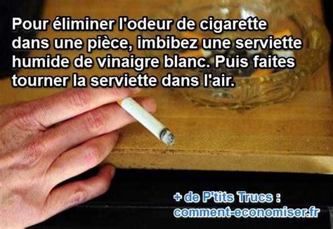 Vinaigre Blanc Odeur by Le Truc Magique Pour Enlever L Odeur De Cigarette Dans Une