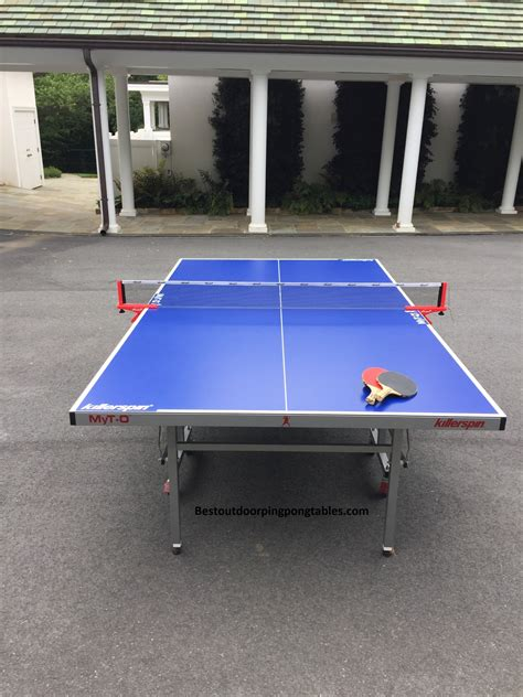 killerspin outdoor ping pong table killerspin myt o outdoor table review