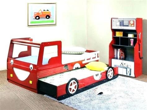 childrens car bedroom set 15 racing car beds for children room toddler kids red