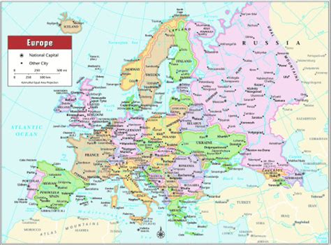 map of mainland europe vacancies worldwide