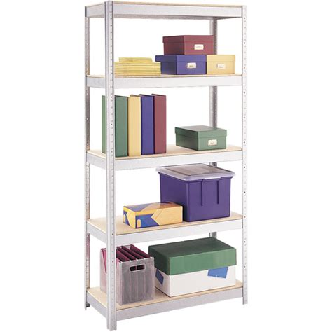 space solutions 500 series 5 shelf shelving galvanized