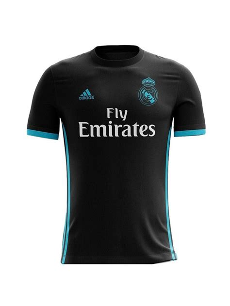Jersey Real Madrid Away 2017 2018 Official Patch Ucl Wcc real madrid away jersey 2017 2018