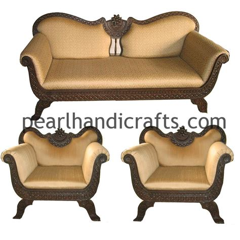 sofa loveseat ottoman set indian sofa set modern sofa set with carving pattern
