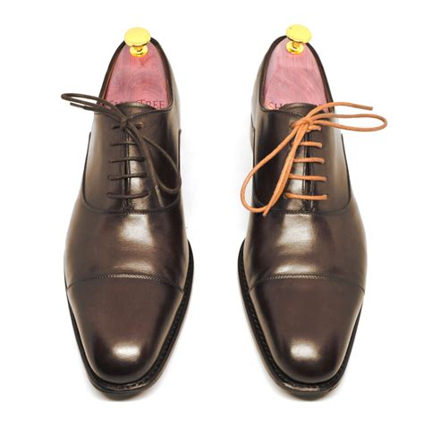 dress shoelaces waxed cotton shoetree project