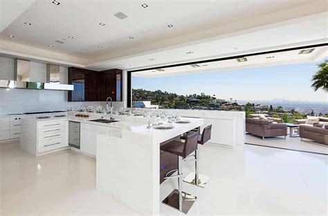 inside a mansion modern kitchen new modern home designs beverly hills bachelor pad that costs 85 million