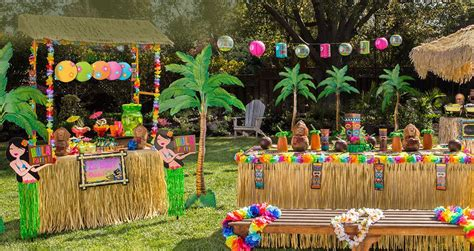 fanciful events summer themed parties summer luau fundraiser at eb elliots little saint nick