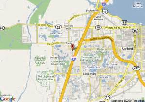 Map Of Lake Mary Florida by Map Of Marriott Orlando Lake Mary Lake Mary