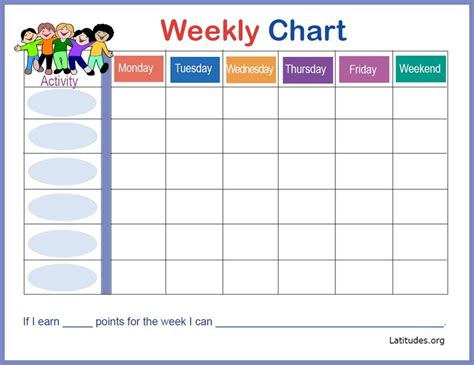 free weekly incentive chart activity bear acn latitudes search results for weekly behavior chart calendar 2015