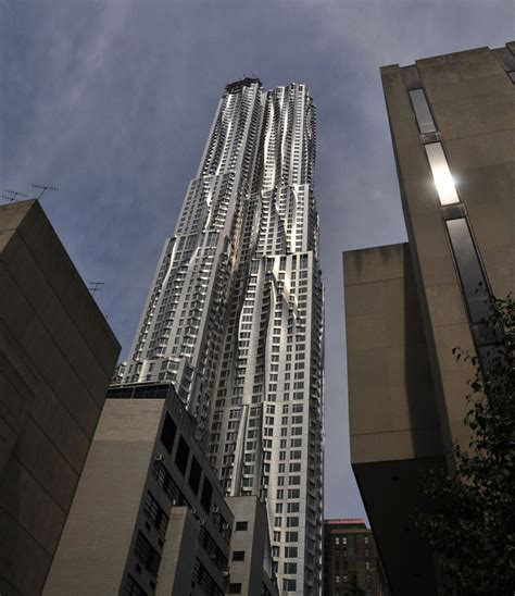 frank gehry beekman tower nearing completion housevariety