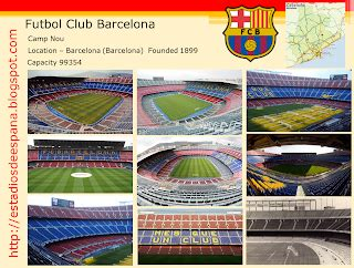 estadios de fútbol en españa: barcelona camp nou