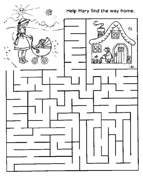 printable hidden picture mazes free printable mazes for kids at allkidsnetwork com there
