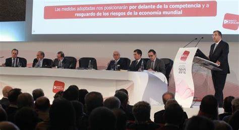 banco popular valencia todos los consejeros con 193 ngel para defender su