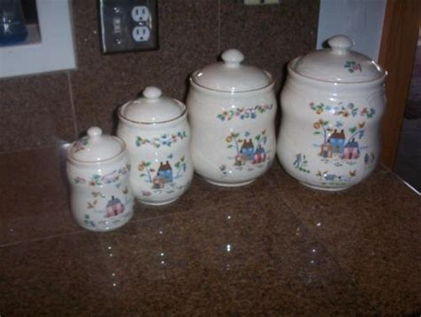 Farmhouse Kitchen Canister Sets And International Heartland Canister Set Heartland Country