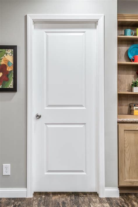 White 2 Panel Interior Doors Moulding Door A C