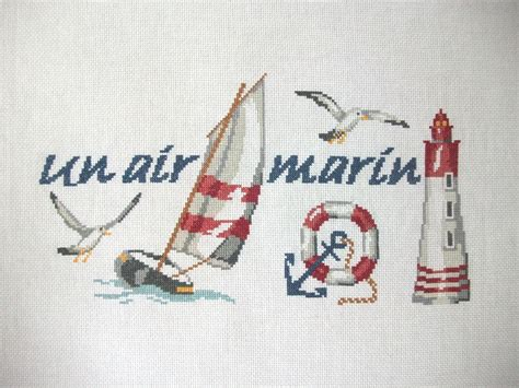 Airin Marun point de croix mer un air marin 63 les ptites x de cc