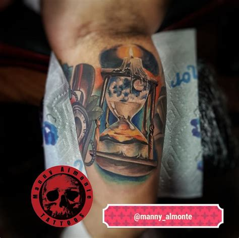 red dragon tattoo youtube hourglass by manny almonte tattoonow