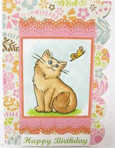 free ecards beautiful cat birthday card e cards for - Send E Birthday Card Free