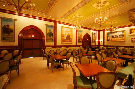 Be Our Guest Dining Rooms | inside be our guest restaurant dining rooms photo 12 of 19