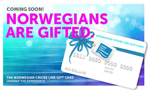 norwegian cruise line gift card launch michelle bielecki copywriter - Ncl Gift Card