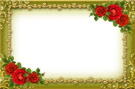 design frame photo flower photo frames design png www imgkid com the