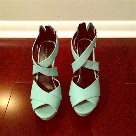 mint colored sandals 72 shoes trendy mint colored wedge sandal from