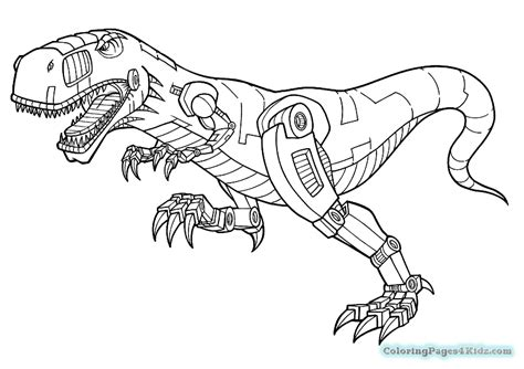 dinosaur robot coloring page dinotrux reptools rev coloring pages coloring pages for kids