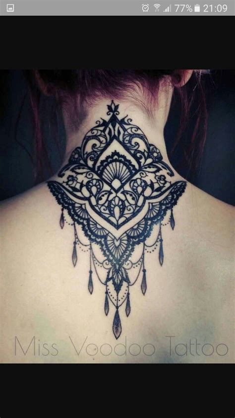 nape tattoo design 25 best ideas about nape on neck