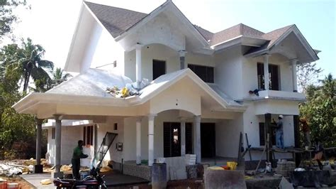 euro style home design gallery carmel construction almost completed european style house for sale in angamaly ernakulam youtube