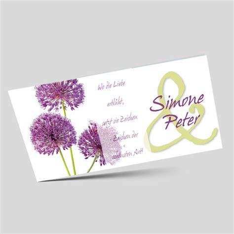 Hochzeitseinladung Lebensbaum by Hochzeitseinladungskarte Allium Farbenfrohe Bl 252 Tenkugel