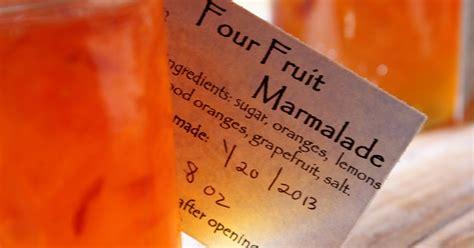 4 fruit marmalade rurification four fruit marmalade