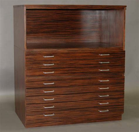 Flat Files Echo Wood Wood Flat File Cabinet
