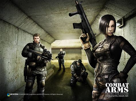 Gamis Combad combat arms wallpapers