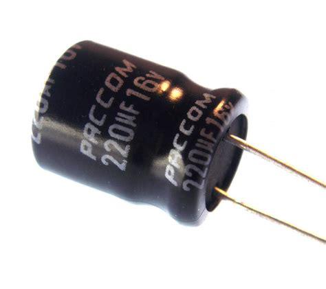 220uf 16v electrolytic capacitor aluminum electrolytic 220uf 16v radial nightfire electronics llc