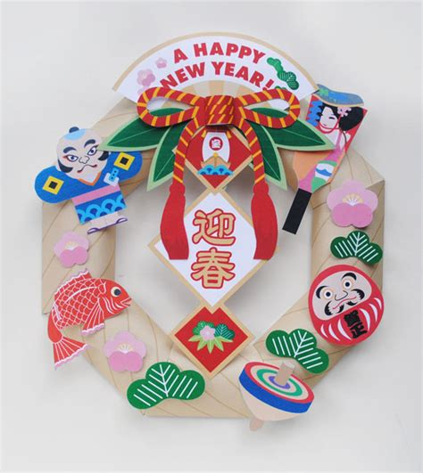 New Year Paper Crafts - okui zakka