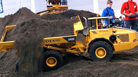 Machine Truck Construction Limited rc construction site big scale model dump trucks and excavator in amazing