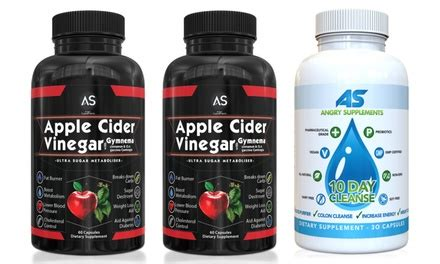Stores That Sell Detox Drinks Near Me by Angry Supplements Apple Cider Vinegar With 10 Day Cleanse