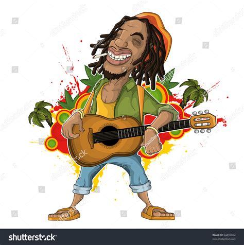 Reggae Artist Stock Vector 64492822   Shutterstock
