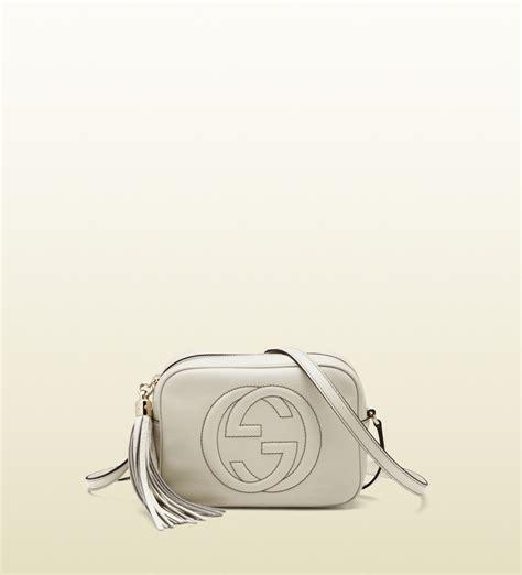 Gucci Soho 203962 Set Bag In Bag Semi Premium Bahan Kanvas Waterpro gucci soho leather disco bag in lyst