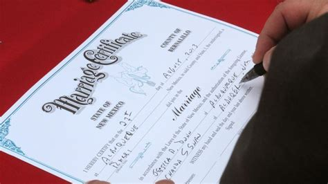 New Mexico Marriage License Records Same Couples From Flock To New Mexico For Weddings Dailyscene