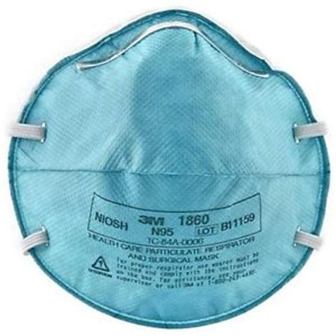 3m 1860 n95 particulate respirator surgical face mask