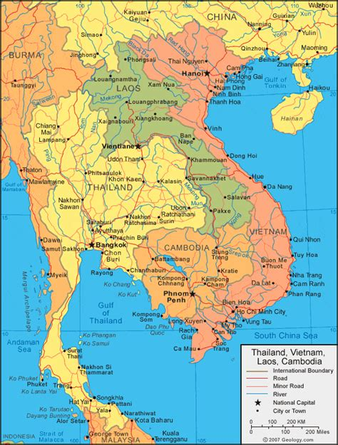 map thailand thailand map and satellite image