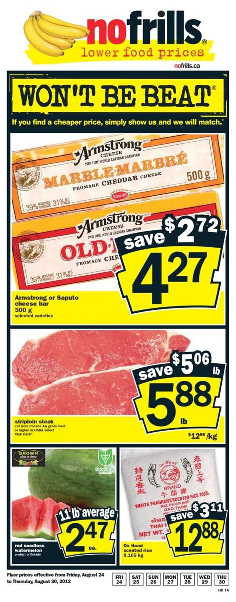 no frills new year flyer no frills on flyer aug 24 to 30
