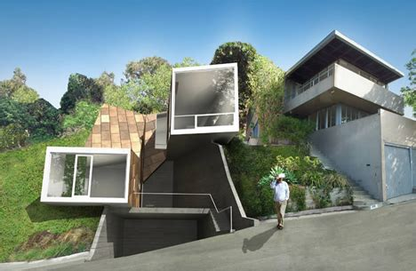 setbacks zoning shaped this sweet modern hillside home