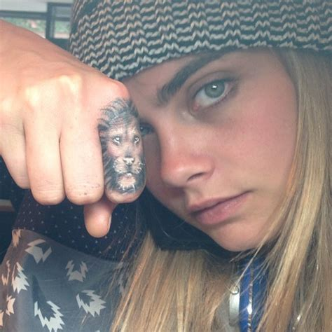 lion tattoo on finger meaning 50 best celebrity tattoos to get inspired from