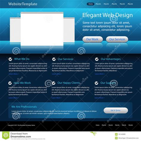 templates for alumni website free download dark blue website design template stock vector